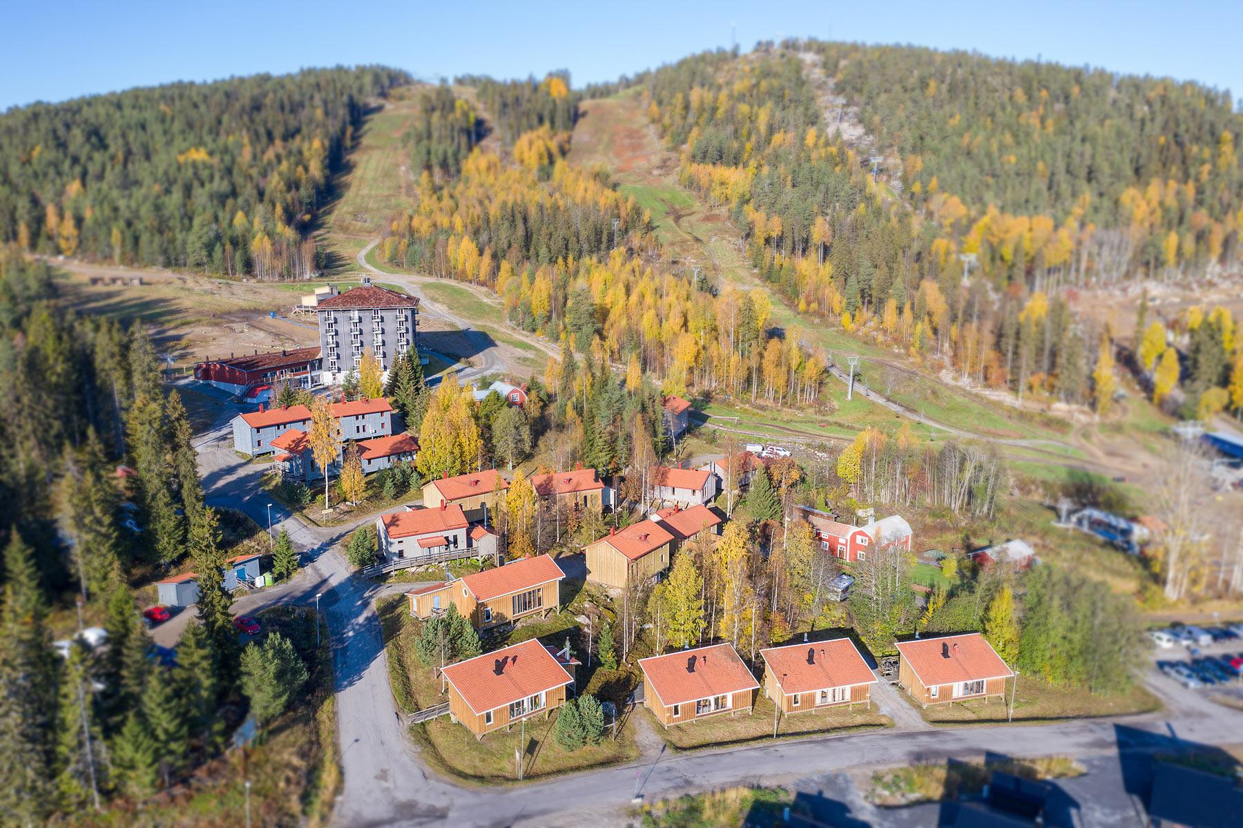 Järvsö Stugby - boende med ski in ski out-läge på Järvsö syd